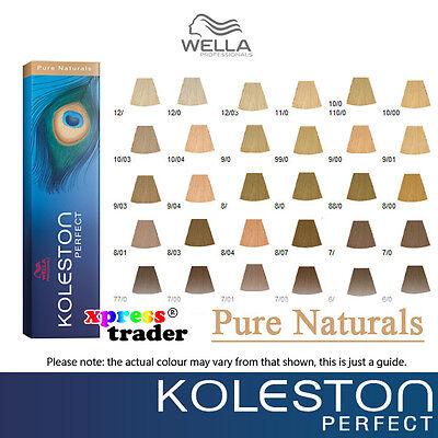 Wella Koleston Perfect Permanent Farben Coloration Color Dye 60g ...