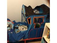 Thomas the tank toddler bed and accessories