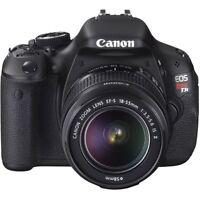 Canon t3i neuve dans sa boite
