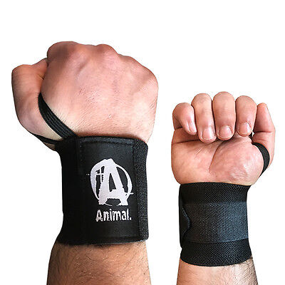 Universal Wrist Wrap (Universal Nutrition Animal Wrist Wraps Handgelenkbandagen Handbandagen 1 Paar)