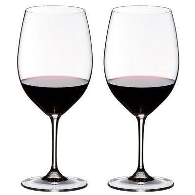 Riedel Rotweingläser Vinum Cabernet Sauvignon-Merlot (Bordeaux) (2-teilig) Riedel Vinum Bordeaux Cabernet