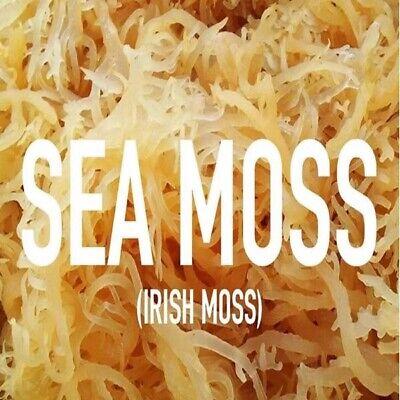 Raw Irish Moss Sea Moss 1 lb   Raw WildCrafted Caribbean Superfood-16 Oz