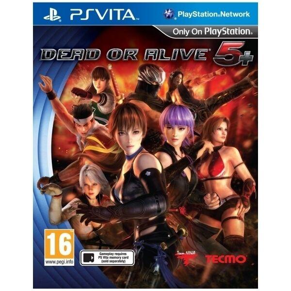 Dead Or Alive 5 Plus Game PS Vita - Brand New!