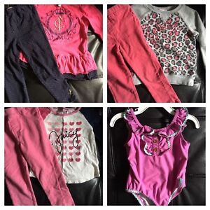 Juicy Couture girls size 3 clothes