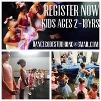 Dance ages 2-6years 2016