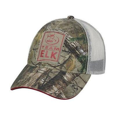Rocky Mountain Elk Foundation Team Elk Meshback Cap- RTX/Putty