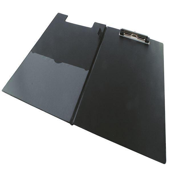 Rapesco Foldover Clipboard A4/Foolscap Black VFDCB0L3 [HT03078]