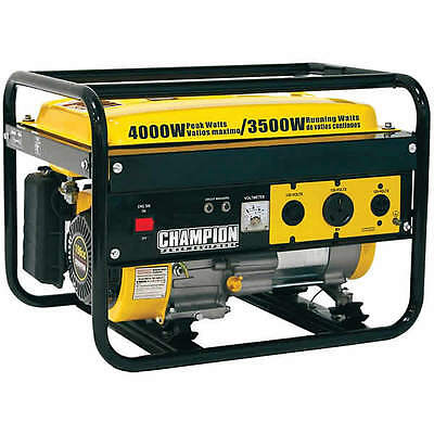 Champion 46596 - 3500 Watt Portable Generator W Rv Outlet