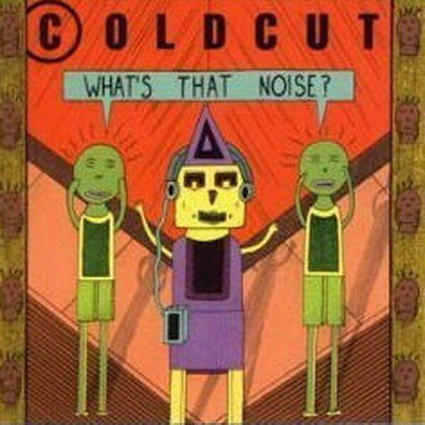 "12"" LP Coldcut What`s That Noise? (Doctor In The House) 80`s Intercord"