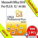 Microsoft Office 2010 Professional Retail Download (5 pc's)