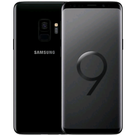 SAMSUNG S9 PLUS 128GB PHONE WITH BOX, CHARGER