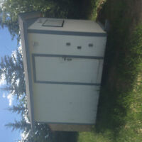 10x12 shed insulated and wired