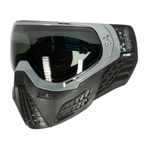 New HK Army KLR Thermal Paintball Goggles Mask - Blackout Grey /Black