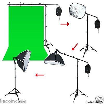 Photography Hairlight Studio Boom Arm with Light Stand & Sandbag Top Light Kit