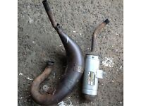 Doma exhaust and silencer