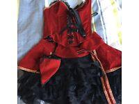Fancy dress season showgirl outfit!