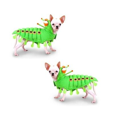 High Quality Dog Costume Green CATERPILLAR Insect Dress Your Dogs Like a Bug (Dog Caterpillar Costume)