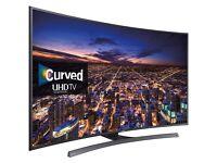 "48"" SAMSUNG Curve Smart UHD 4K LED TV FreeviewHD UE48JU6500"