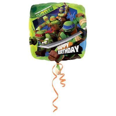 t Ninja Turtles TMNT Happy Birthday Party Foil Balloon (Happy Birthday Ninja Turtles)