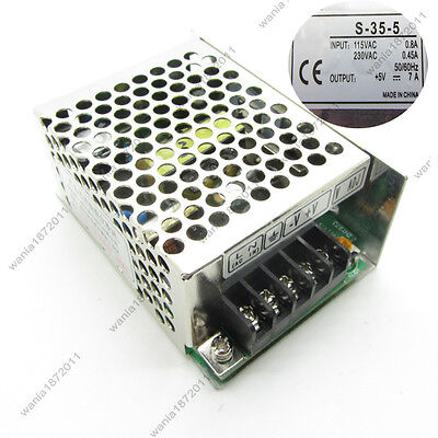 Universal Regulated Switching Power Supply Output Dc5v 35w 7a