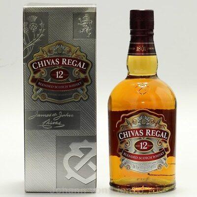 Chivas Regal 12 Jahre alt Years Scotch Blendet Whisky 0,7 L 40%vol