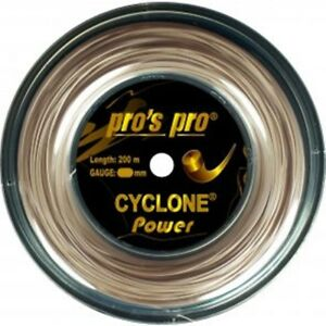 PRO S PRO CYCLONE POWER  1.20 TENNIS STRING REEL , 200M , NEW