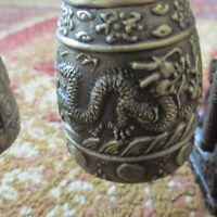 COLLECTIBLES DECO CHINESE MUSICAL INSTRUMENT, BRONZE DRAGON BELL