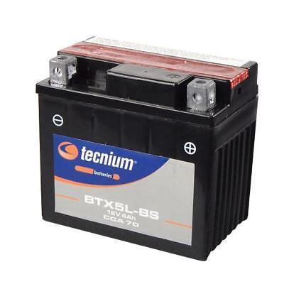 Bateria Moto Tecnium BTX5L-BS   YTX5L-BS   PTX5L-BS   CTX5L-BS   GTX5L-BS