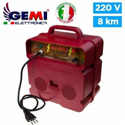 Electrificador para Cercas eléctrica Para Pastor eléctrico 8 Km 220 V Gemi