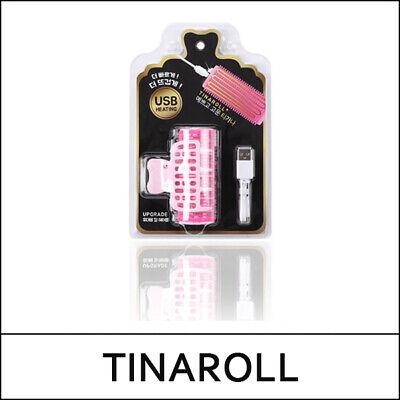 [TINAROLL] TINAROLL+ 1ea / Hair roll / Hair Curler / USB heating / Only Pink / 2