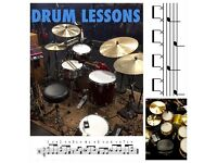 DRUM LESSONS with a professional drummer and dedicated drum teacher | Beginner to advance.