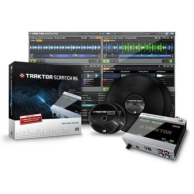 Native Instruments Traktor Scratch A6 Digital Vinyl System Timecode Software NI