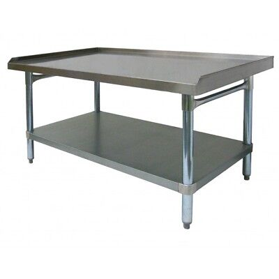 All Stainless Steel Equipment Stand 30x12 Nsf