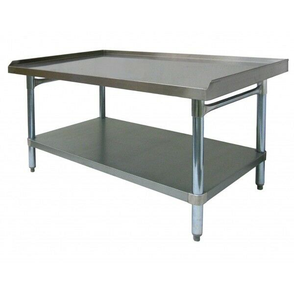 """Stainless Steel Equipment Stand 24""""x12"""" NSF"""