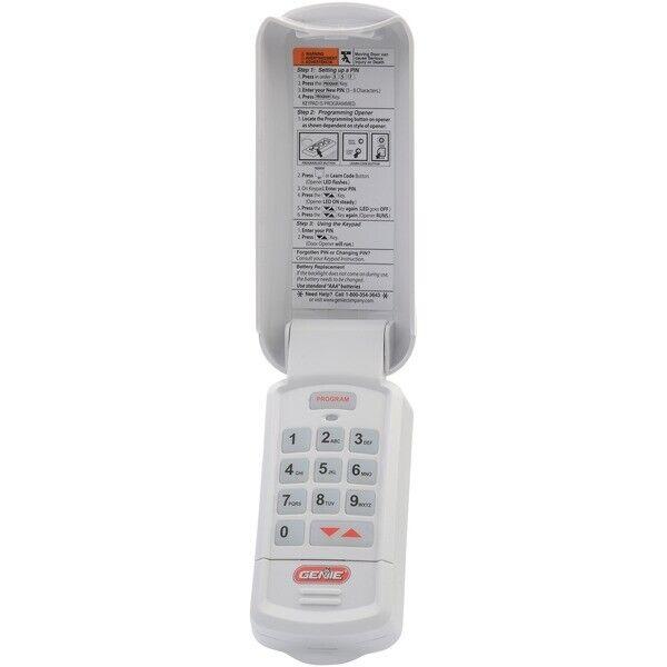 Genie 37332R Intellicode Garage Door Opener Wireless Keyless Keypad