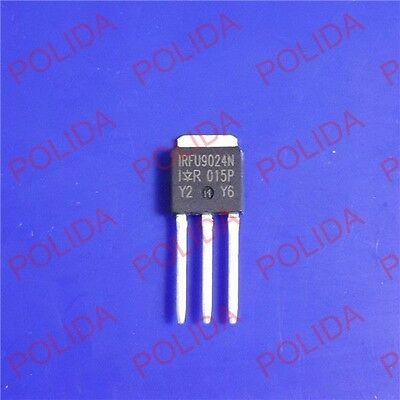 50pcs Mosfet Transistor Ir To-251ipak Irfu9024n Irfu9024npbf Fu9024n