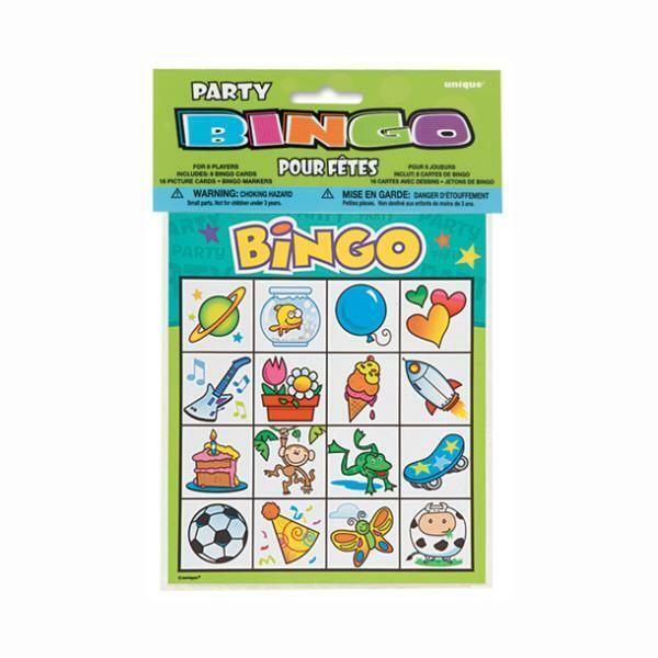 Bingo Cards Party Favors, 8-ct.