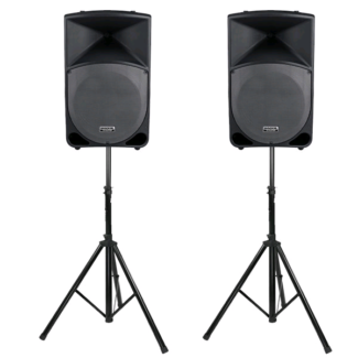 Speaker hire / PA system / Lighting / DJ equipment hire