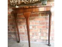 WEEK END SALES CONSOLE TABLE FREE DELIVERY HALLWAY TABLE