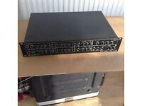 McGregor V8D stereo rack mount mixer amplifier.