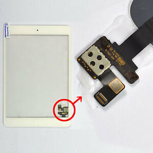 New-White-Touch-Screen-Glass-Digitizer-IC-Chip-Replacement-Parts-For-iPad-Mini