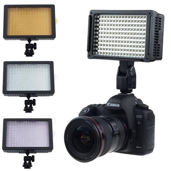 160 LED Studio Video Light For Canon Camera DV Camcorder Photogra ll