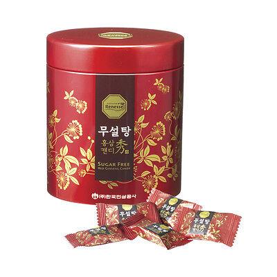 TESTING   Cheong Kwan Jang Korea  Sugar free 6 Red Ginseng Candy Renesee 180g