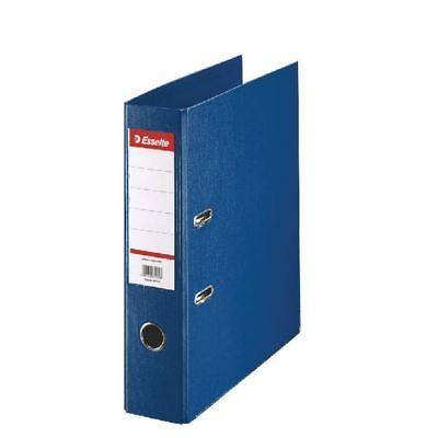 Esselte A4 Polypropylene 75mm Blue Lever Arch File (Pack of 10) 48065 [ES80656]