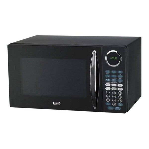 Sunbeam 0.9 Cu.Ft. Microwave Oven - Black -  NEW!!