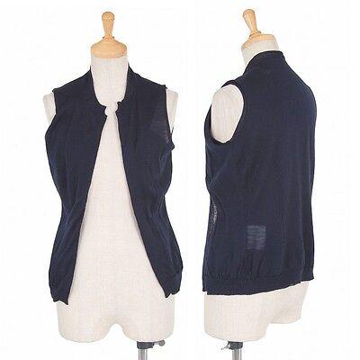 (SALE) COMME des GARCONS Layered vest Size About  S(K-17231)