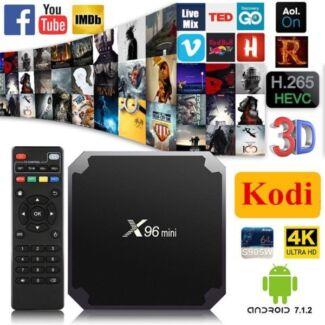 X96 Mini Compact and Powerful TV Box KODI BOX 1G 8G   SMS or call