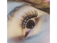 Hair extensions and eyelash extensions by Danielle