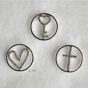 Plates Window Plate Accessories for Floating Living Locket Charm Necklace