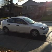 Mazda 3 2006 ***Comes with winter tires***